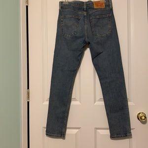 EUC LEVI'S 512 Men's Medium Faded Jeans ~32/32